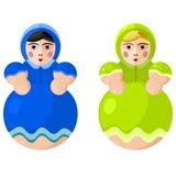 Russisch nationaal stuk speelgoed Stock Afbeelding