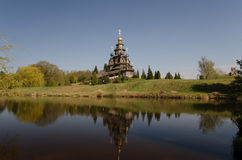 Russisch-Orthodoxe Kirche Stockfotografie