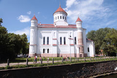 Russisch-Orthodoxe Kirche der heiligen Mutter des Gottes, Vilnius, Lithuani stockbilder