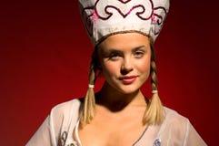 Russisch partijmeisje 22 - Dramatische verlichting Stock Fotografie
