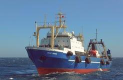 Russisch schip Royalty-vrije Stock Afbeeldingen