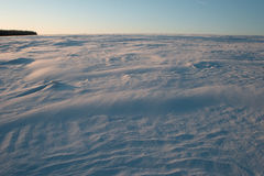 Russisch sneeuwgebied Stock Afbeelding