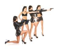 Russisch spionteam stock afbeelding