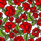 Russisch traditioneel bloemenpatroon Nationaal ornament Khokhloma Royalty-vrije Stock Foto
