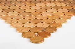 Russische 10-Münze lizenzfreie stockfotos