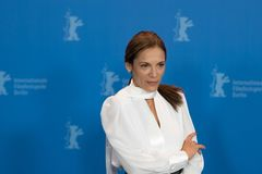 Russische actrice Ana Ivanova Stock Afbeelding