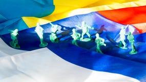 Russische agressie op de Oekraïne royalty-vrije stock foto's