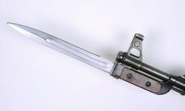 Russische AK47 bajonet Royalty-vrije Stock Foto