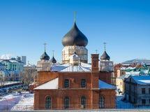 Russische alte Gläubiger-Kirche lizenzfreie stockbilder