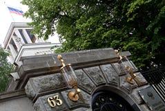 Russische Ambassade in Berlijn Royalty-vrije Stock Afbeelding