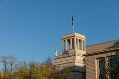 Russische Ambassade in Berlijn Stock Afbeelding