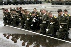 Russische ambtenaren. Stock Afbeelding