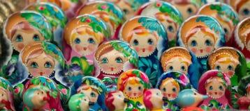 Russische Andenken Stockbild
