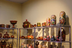 Russische Antiquiteiten royalty-vrije stock afbeeldingen