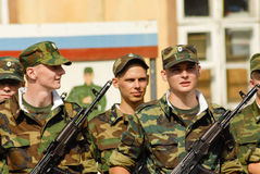 Russische Armee Lizenzfreies Stockbild