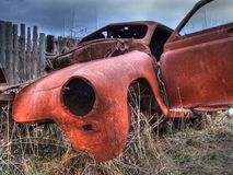 Russische auto Royalty-vrije Stock Afbeelding
