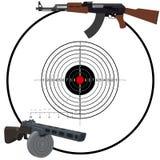 Russische automatische wapens Royalty-vrije Stock Fotografie