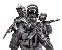 Russische besondere Kräfte Stockfoto