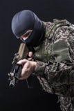 Russische bewaffnete Kräfte Stockfoto