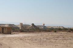 Russische Cappellae, de Doopplaats van Qasr Gr Yahud Stock Fotografie