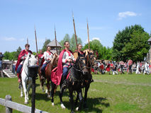 Russische Cavalerie Royalty-vrije Stock Foto's