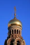 Russische Christelijke tempel Stock Fotografie