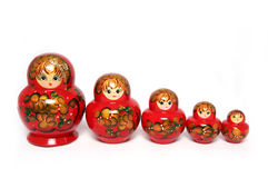Russische Doll Stock Afbeelding