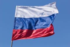 Russische dreifarbige Flagge Lizenzfreies Stockbild
