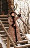Russische edelvrouw Stock Fotografie