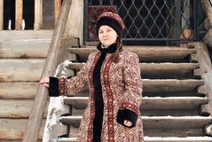Russische edelvrouw Stock Afbeelding