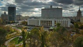 Russische Föderations-Regierungs-Headquarters. Moskau stockbild