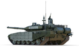 Russische Hauptpanzer-Rückseiten-Ansicht Lizenzfreies Stockbild