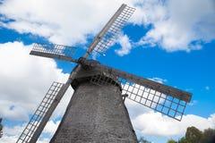 Russische houten windmolen Royalty-vrije Stock Foto's