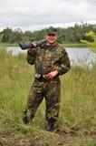 Russische Jager Royalty-vrije Stock Afbeelding