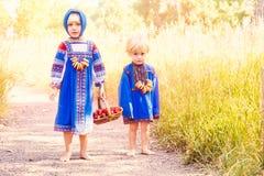 Russische jonge geitjes Stock Afbeelding