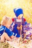 Russische jonge geitjes Royalty-vrije Stock Fotografie