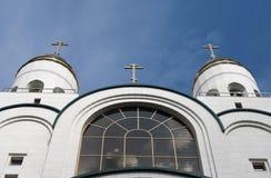 Russische kathedraal Stock Afbeelding
