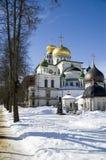 Russische kathedraal Royalty-vrije Stock Foto's