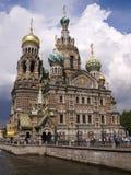 Russische kathedraal royalty-vrije stock afbeeldingen