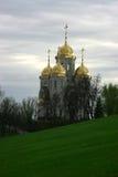 Russische Kathedraal Stock Foto's