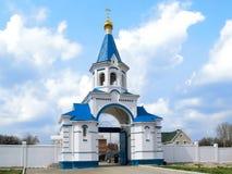 Russische kerk 01 royalty-vrije stock foto's