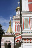 Russische kerk Royalty-vrije Stock Foto's