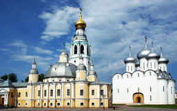 Russische kerk Royalty-vrije Stock Afbeelding