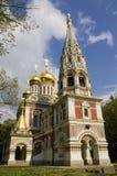 Russische kerk Royalty-vrije Stock Foto