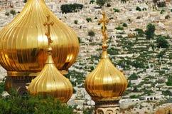 Russische kerk   Royalty-vrije Stock Afbeeldingen