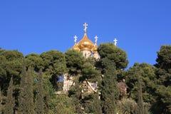 Russische Kerk in Jeruzalem Royalty-vrije Stock Foto's