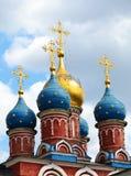 Russische Kerk, Moskou, Rusland Stock Fotografie