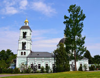 Russische Kerk, Moskou, Rusland Stock Foto's