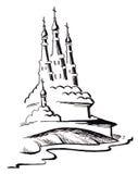 Russische kerken Stock Foto's