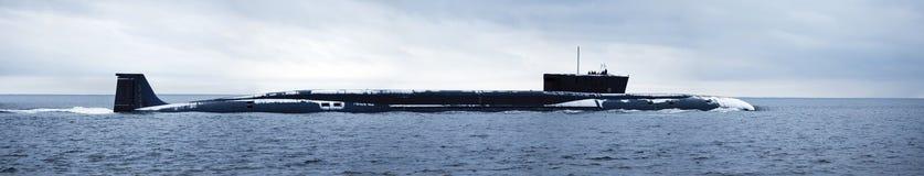 Russische kernonderzeeër royalty-vrije stock afbeelding